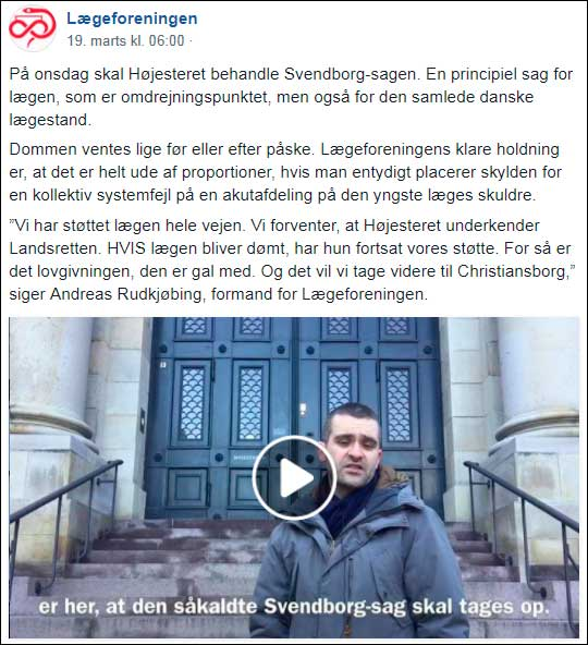 Video foran Hoejesteret